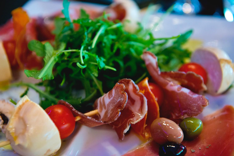 Une cuisine italienne