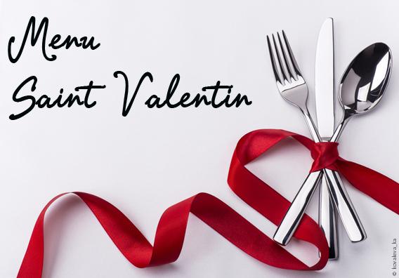 menu saint valentin l avellino caff restaurant. Black Bedroom Furniture Sets. Home Design Ideas